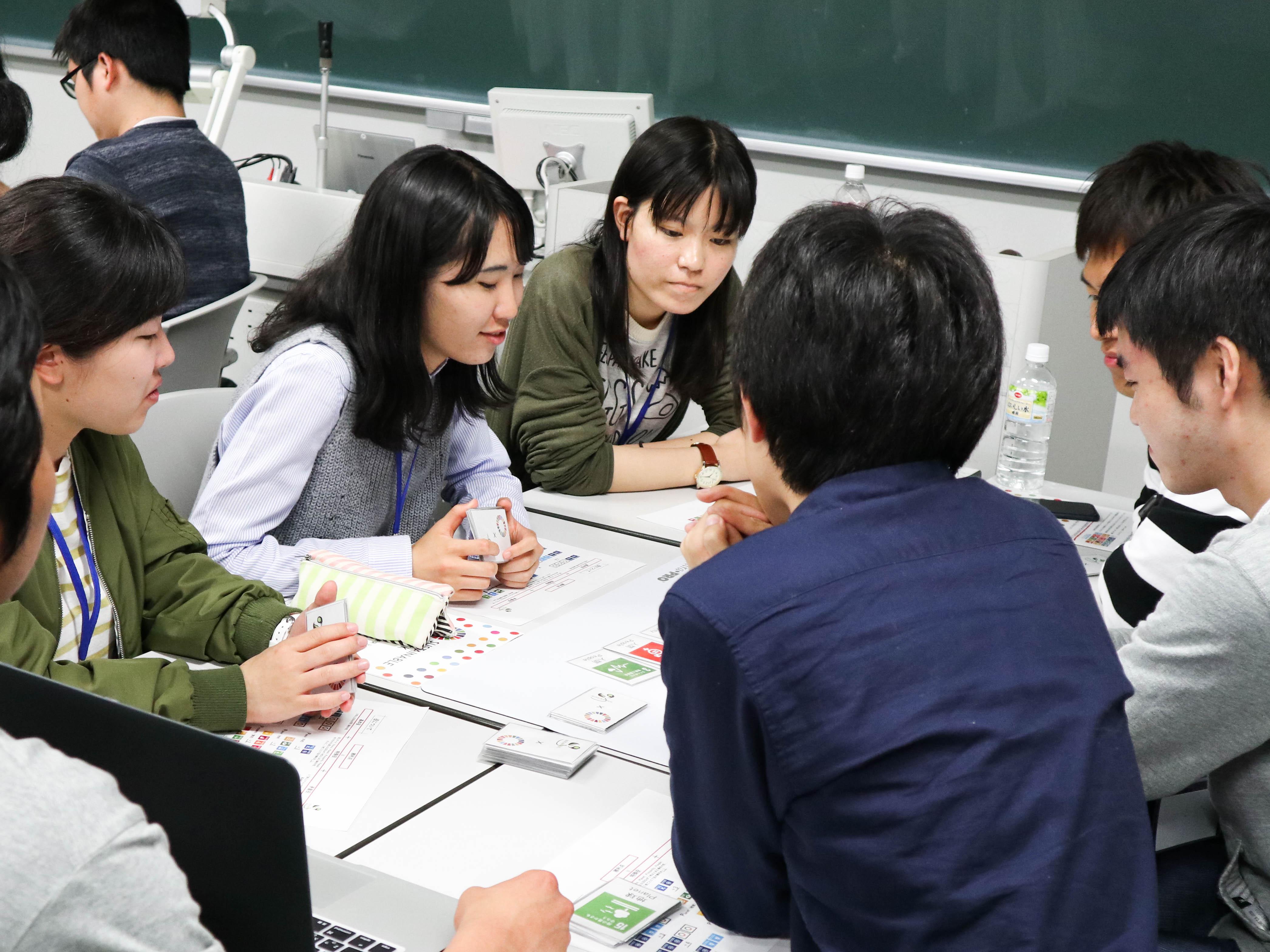 学生が様々な場所・人・団体に繋がれる場所づくり